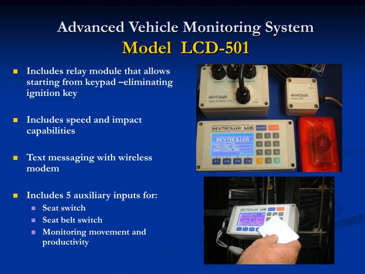 Advanced Vehicle Monitoring System