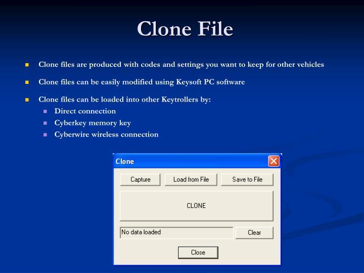 Clone File