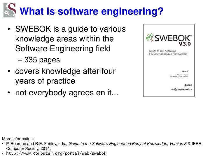 What is software engineering?