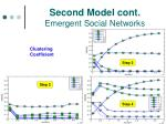 second model cont emergent social networks
