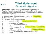 third model cont schematic algorithm