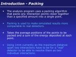 introduction packing