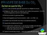 principe de base du co 21
