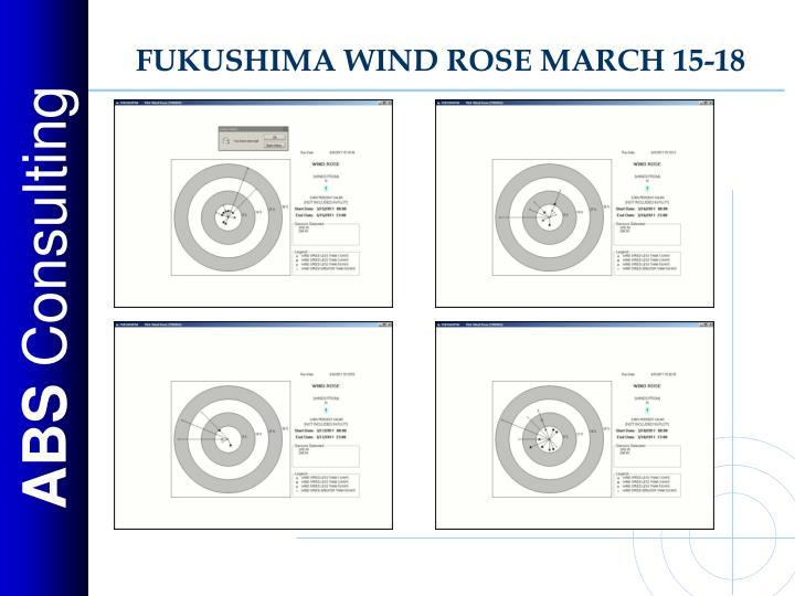 FUKUSHIMA WIND ROSE MARCH 15-18
