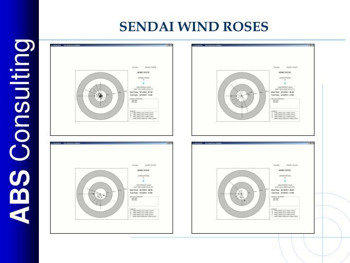 SENDAI WIND ROSES