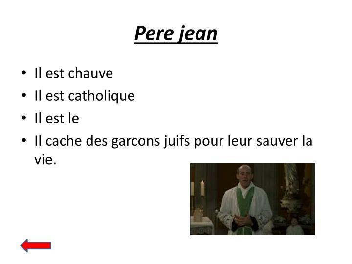 Pere jean