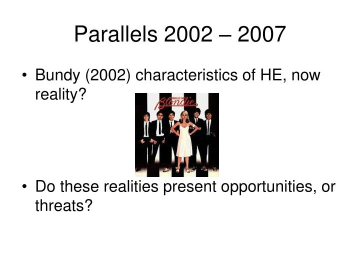 Parallels 2002 – 2007