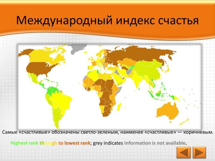 Международный индекс счастья