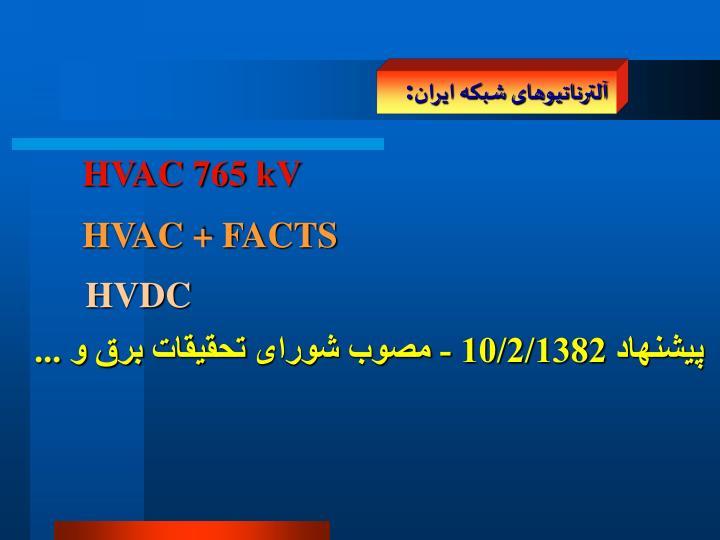 آلترناتيوهای شبکه ايران