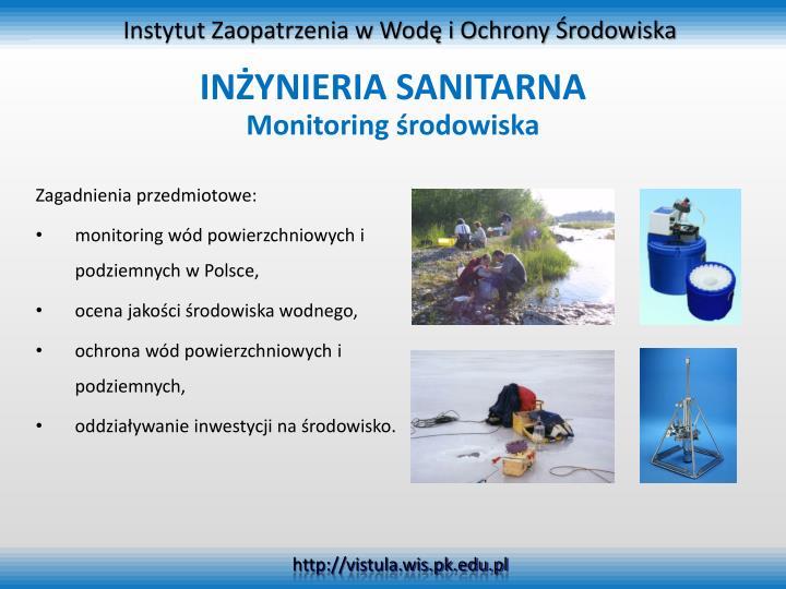 Instytut Zaopatrzenia w Wodę i Ochrony Środowiska