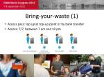 bring your waste 1