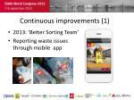 continuous improvements 1