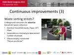 continuous improvements 3