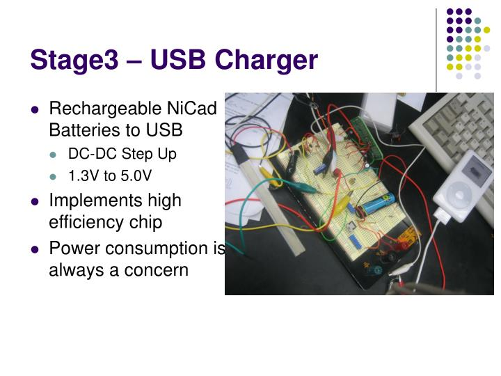 Stage3 – USB Charger