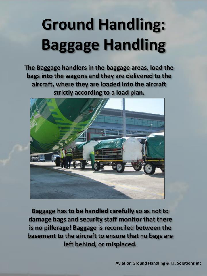 Ground Handling: