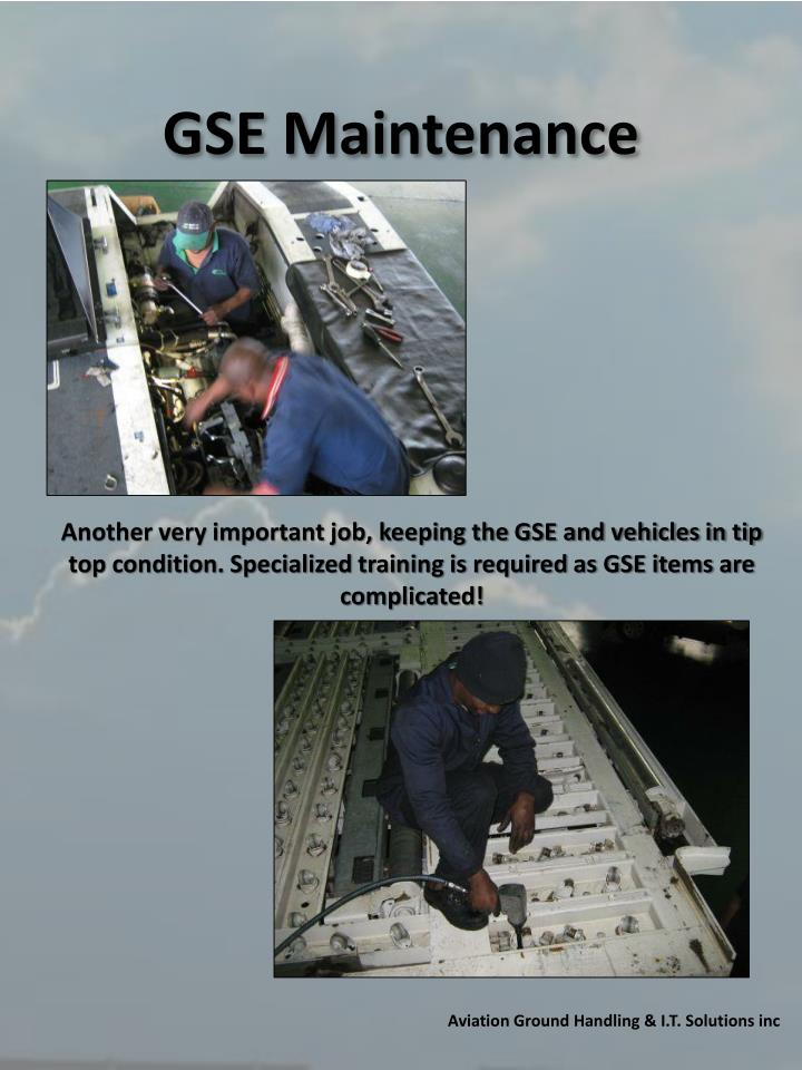 GSE Maintenance