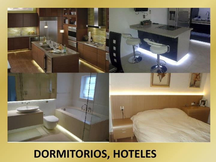 DORMITORIOS, HOTELES
