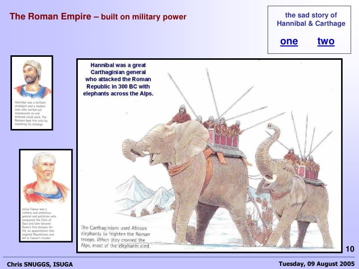 The Roman Empire –