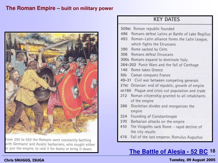 The Roman Empire –