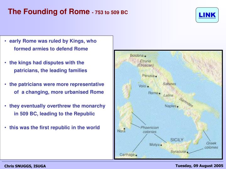 The Founding of Rome