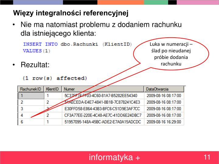 Więzy integralności referencyjnej