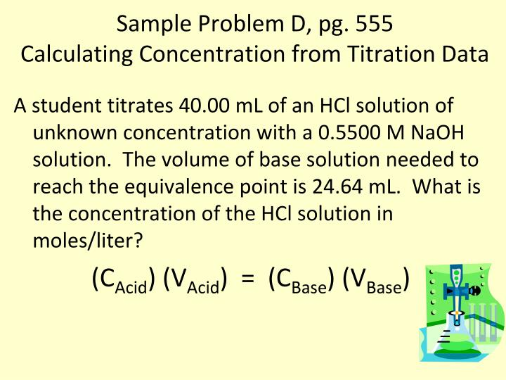 Sample Problem D, pg. 555