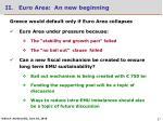ii euro area an new beginning