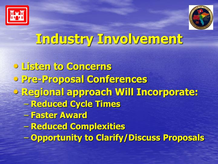 Industry Involvement