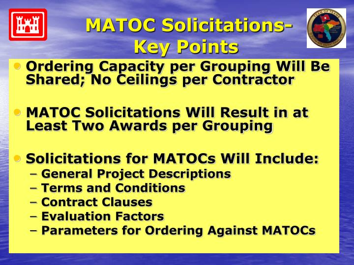MATOC Solicitations-