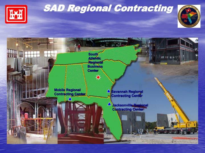 SAD Regional Contracting