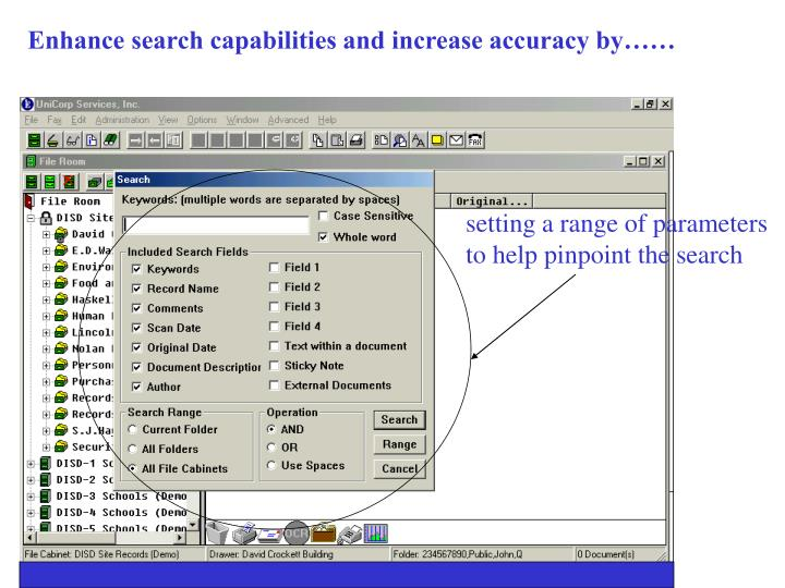 Enhance search capabilities and increase accuracy by……
