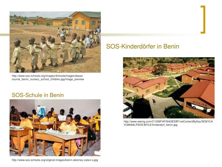 SOS-Kinderdörfer in Benin