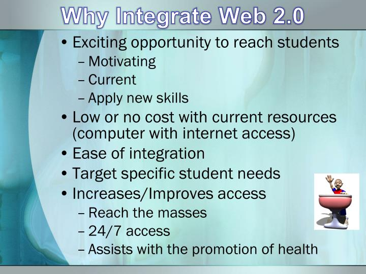 Why Integrate Web 2.0