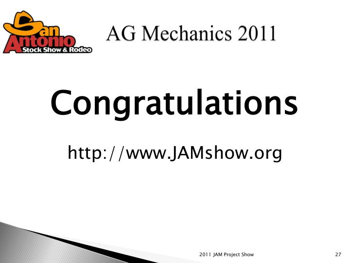 2011 JAM Project Show