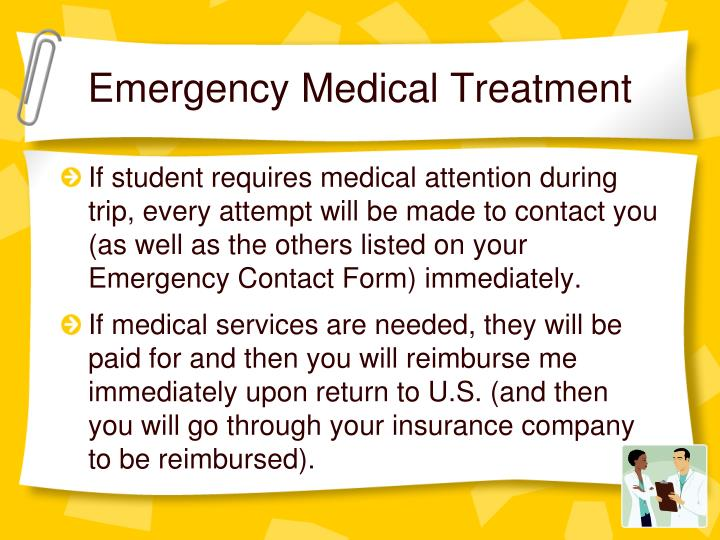 Emergency Medical Treatment