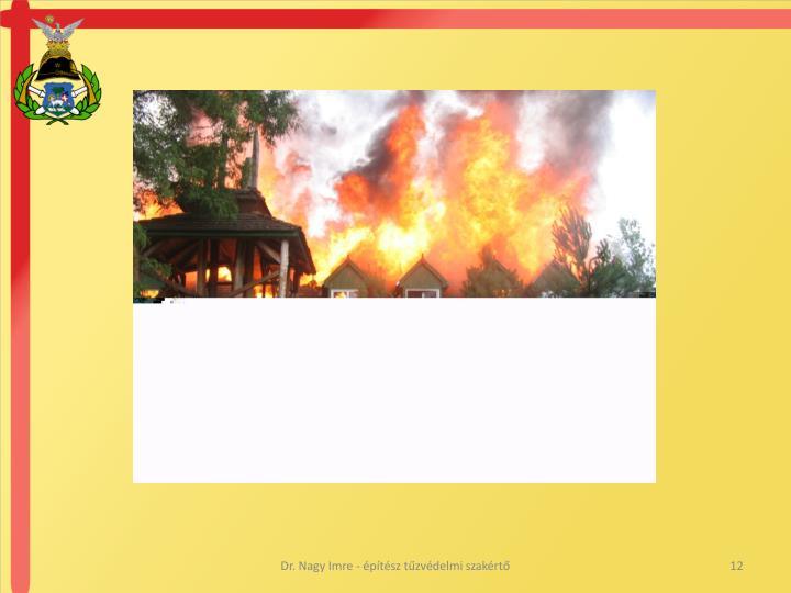 Dr. Nagy Imre - építész tűzvédelmi szakértő