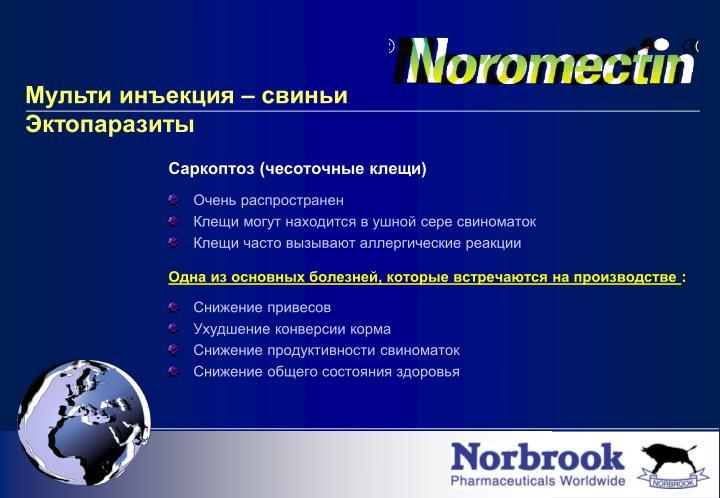 Саркоптоз (чесоточные клещи)