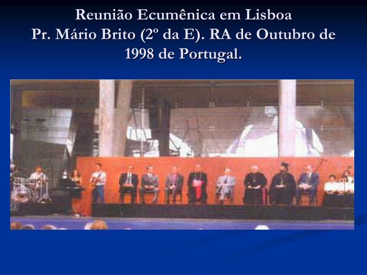 Reunião Ecumênica em Lisboa