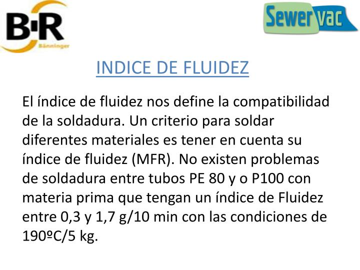 INDICE DE FLUIDEZ