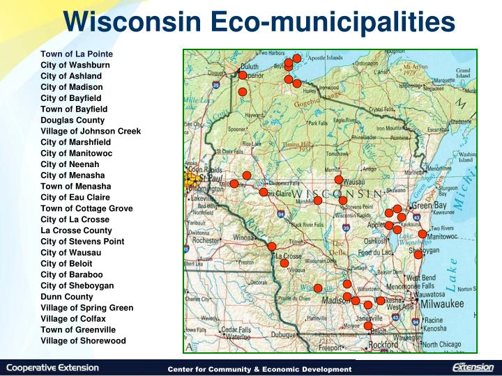 Wisconsin Eco-municipalities