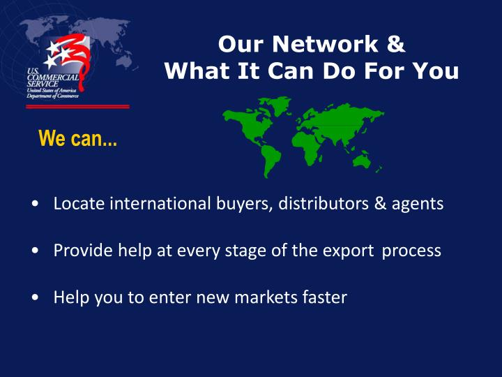 Our Network &