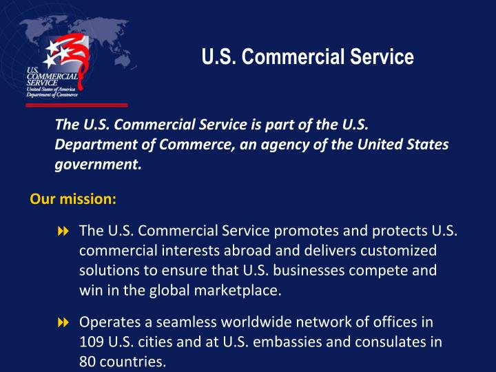 U s commercial service