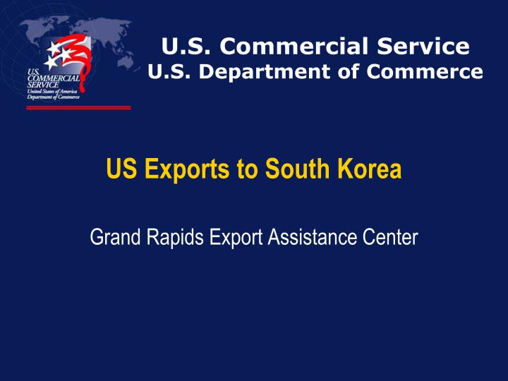 U s commercial service u s department of commerce