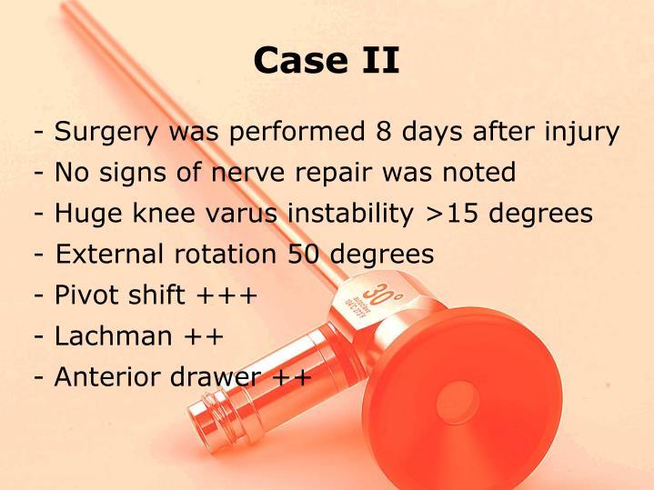Case II