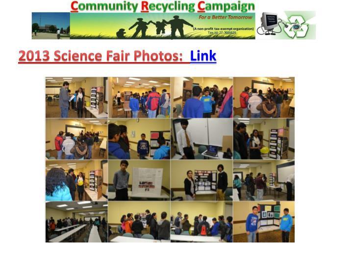2013 Science Fair Photos: