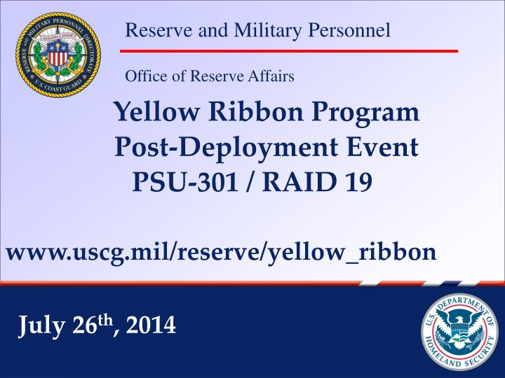 Yellow Ribbon Program
