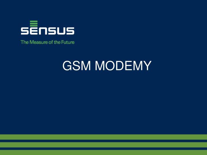 GSM MODEMY