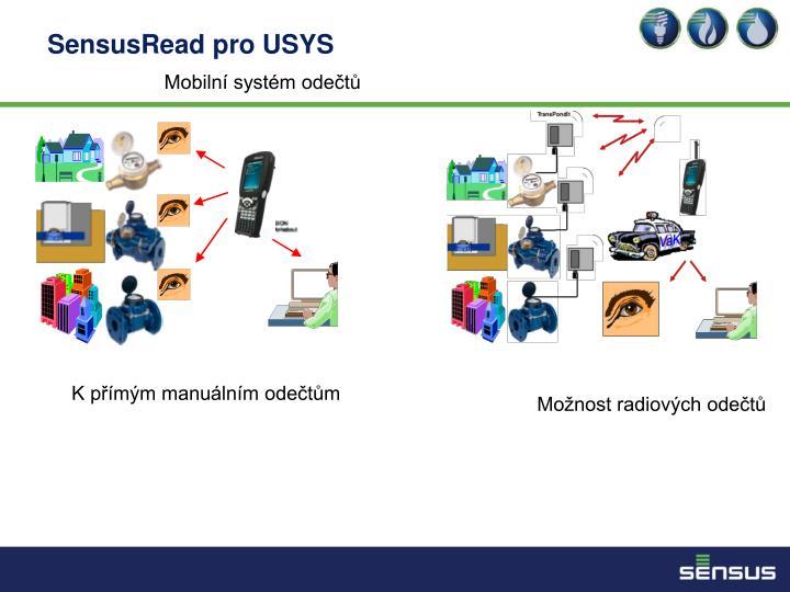 SensusRead pro USYS