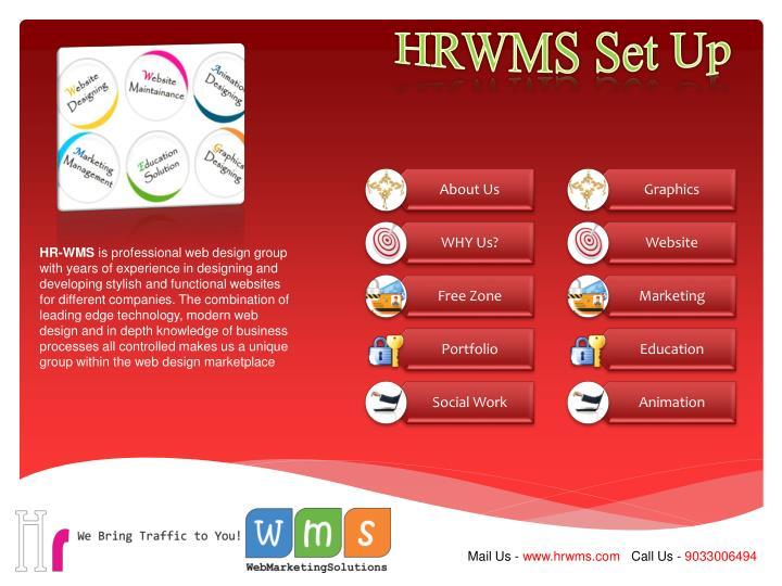HRWMS Set Up