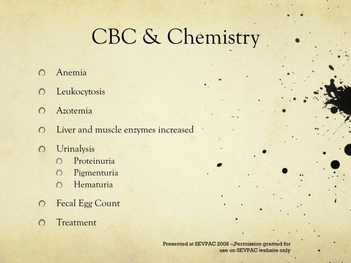 CBC & Chemistry